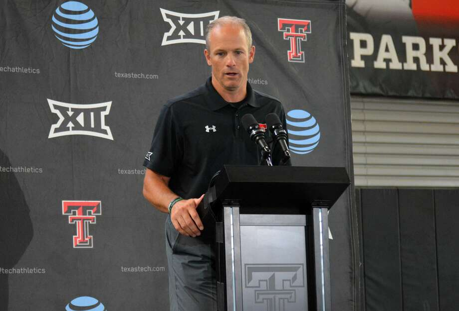 Head coach Matt Wells will get the chance to see the Texas Tech football team compete this fall as the Big 12 has announced the decision to move forward with the season. The Red Raiders will open up the Big 12 schedule by hosting Texas on Sept. 26. Photo: Nathan Giese/Planview Herald
