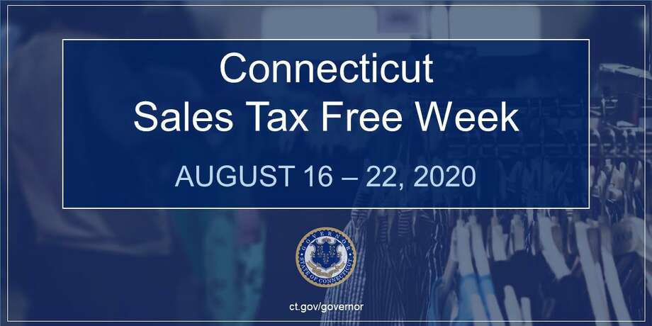 Darien and Connecticut residents can shop tax free within guidelines from Aug. 16 to 22. Photo: State Of Connecticut