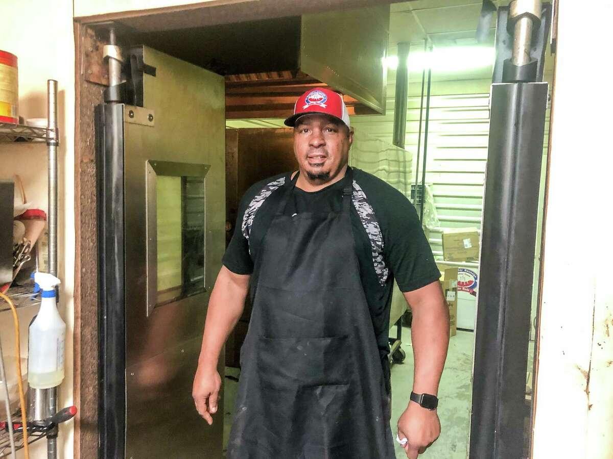 Pitmaster Kevin Mason at Lonestar Sausage & BBQ