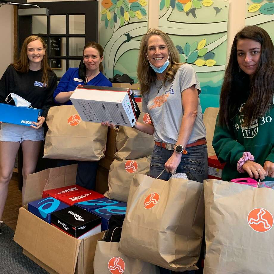 On Friday, Aug. 14, the community can drop off non-perishable groceries to Darien Running Company at 14 Brook Street, between 10 and 4 PM, and Covid Cleanout will deliver them to Open Door Shelter that afternoon. Photo: Contributed Photo / Connecticut Post