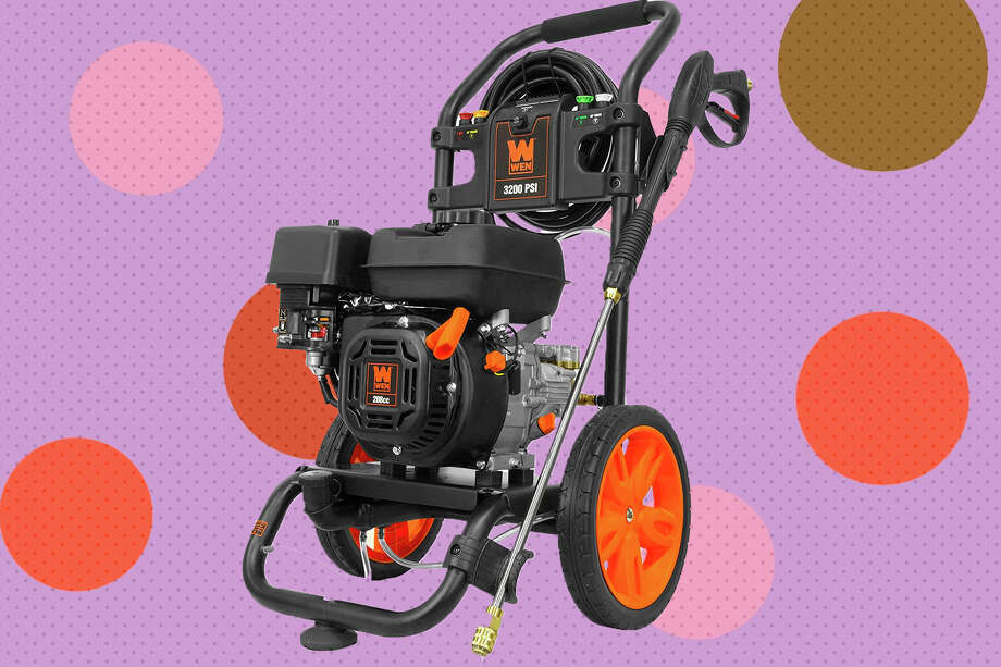 WEN PW3200 Gas-Powered 3200 PSI 208cc Pressure Washer, CARB Compliant, Black at Woot Photo: Wen