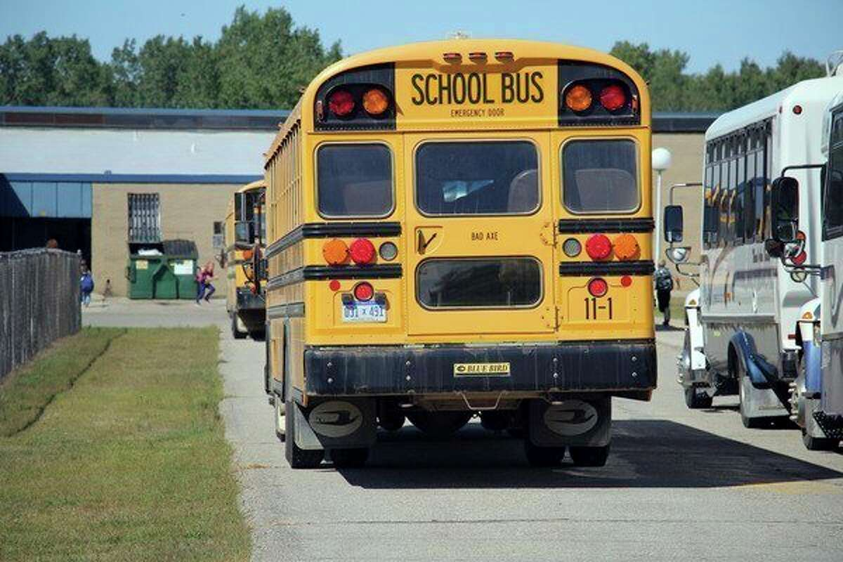 In rural communities like the ones in Huron County, students rely on buses to get to school. As administrators prepare their facilities to safely welcome back their students, they've also developed transportation plans to meet the requirements of Gov. Gretchen Whitmer's MI Safe Schools Roadmap. (Tribune File Photo)