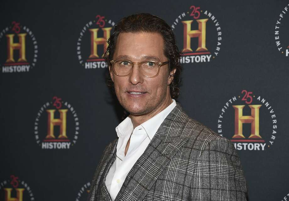 Hank the Cowdog podcast series will feature Matthew McConaughey as the voice of the iconic children's book character. Photo: Evan Agostini, Associated Press