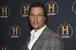 """FILE - Actor Matthew McConaughey attends A+E Network's """"HISTORYTalks: Leadership and Legacy"""" on Feb. 29, 2020, in New York. The Oscar winner, known for such films as """"Dallas Buyers Club"""" and """"Magic Mike,"""" didn't want to write an ordinary celebrity book. """"This is not a traditional memoir, or an advice book, but rather a playbook based on adventures in my life,"""" McConaughey said in a statement about """"Greenlights,"""" which comes out Oct. 20. (Photo by Evan Agostini/Invision/AP, File)"""