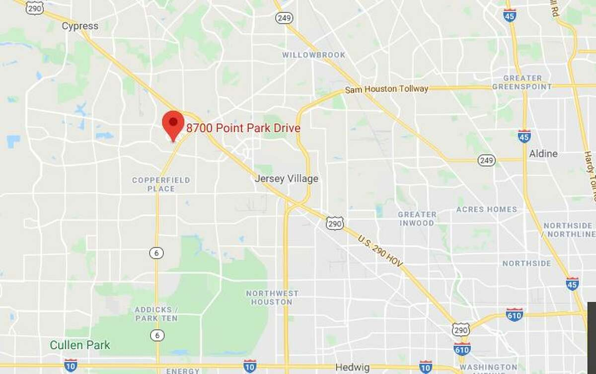 A man was found shot to death outside his apartment in the 8700 block of Point Park Drive, according to the Harris County Sheriff's Office.