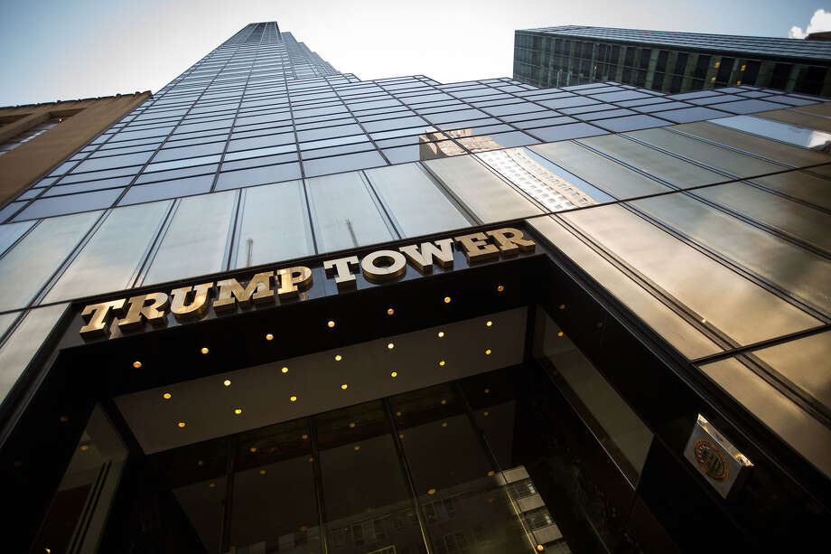 Trump Tower in New York in 2017. Photo: Bloomberg Photo By Michael Nagle. / 2017 Bloomberg Finance LP
