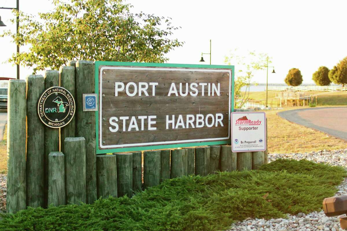 Lou Schillinger, Chairman of the Port Austin Harbor Commission, hopes to see the dock system repaired for next years boating season with a possible rework of the whole harbor. (Tieka Ellis/Courtesy Photo)