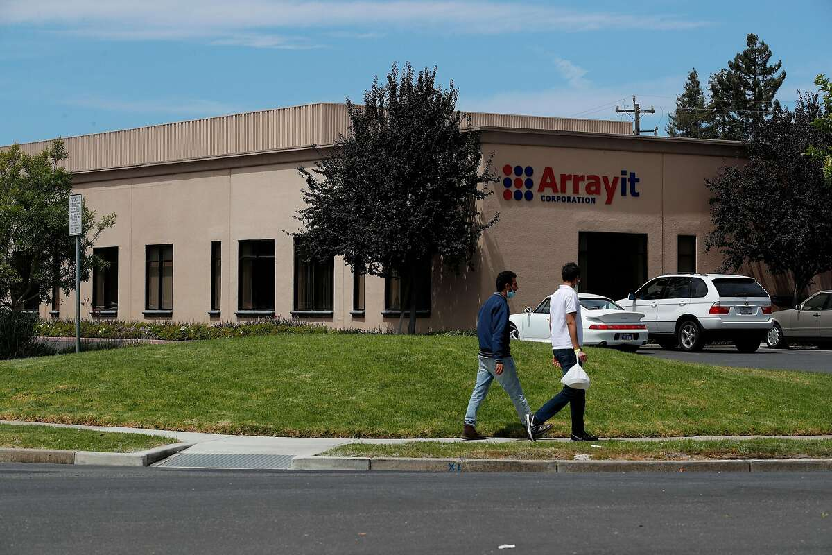 The president of ArrayIt Corporation, a lab company in Sunnyvale, now faces securities-fraud charges.