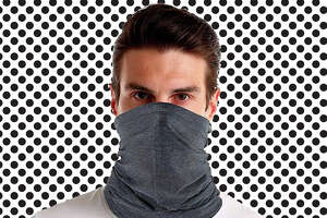 Cooling neck gaiter for adults  available at Amazon.