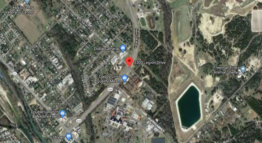 A 2-year-old child's death has been ruled as a homicide by the Bexar County Medical Examiner's Office. The map shows the location police responded to in Kerrville. Photo: Google Maps