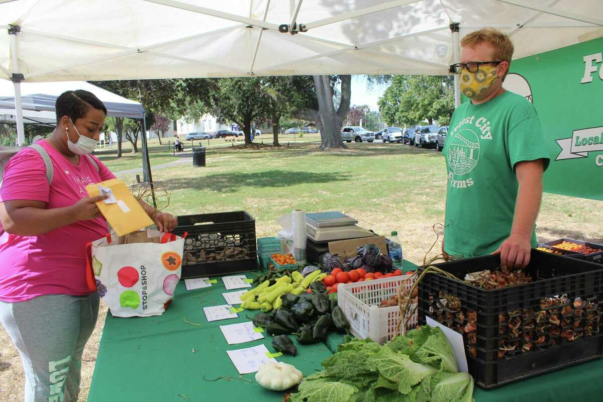 The Middletown Farmers Market runs from 10 a.m. to 2 p.m. Fridays on the South Green, which is off Main Street.