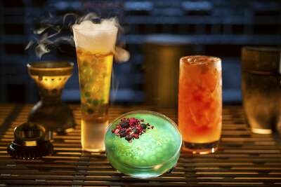 """For years Disneyland was a nearly dry park, but over the years their philosophy on alcohol has changed, most notably with """"Star Wars"""" themed cocktails at Oga's Cantina."""