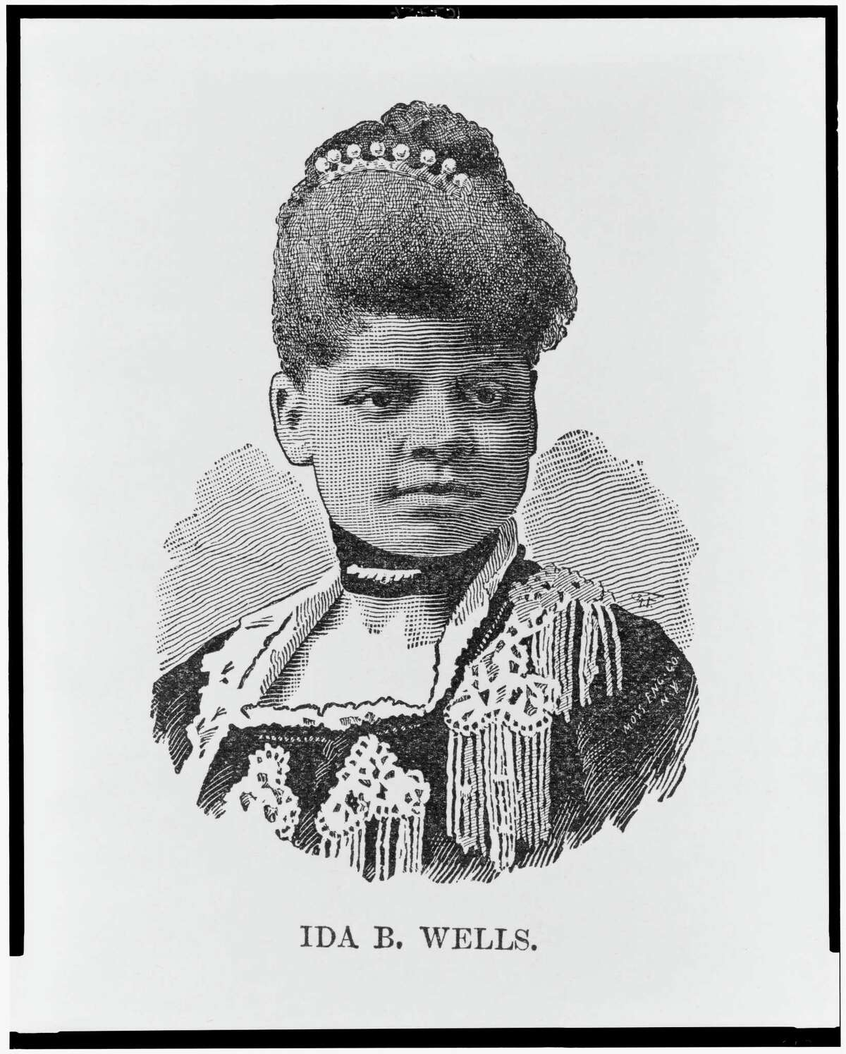 Ida B. Wells. Illustration in: The Afro-American press and its editors, by I. Garland Penn., 1891.