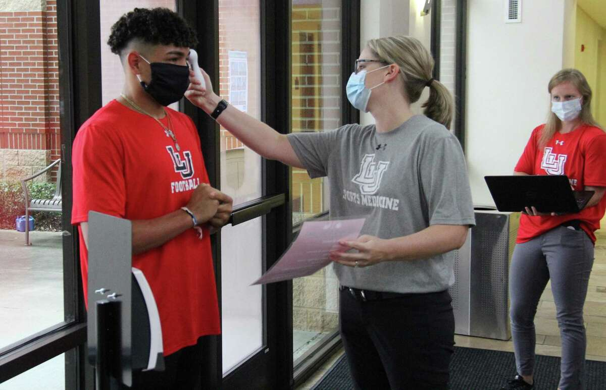 Lamar football players reporting to the Dauphin Athletic Complex Monday were met with a heavy set of coronavirus protocols.