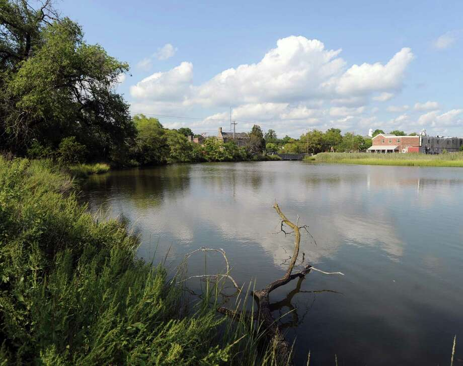 Mill Pond off Strickland Road in Cos Cob, seen here in 2015, needs some upkeep and First Selectman Fred Camillo is hoping a potential partnership with the Junior League of Greenwich could come to fruition. Photo: Bob Luckey Jr. / Hearst Connecticut Media / Greenwich Time