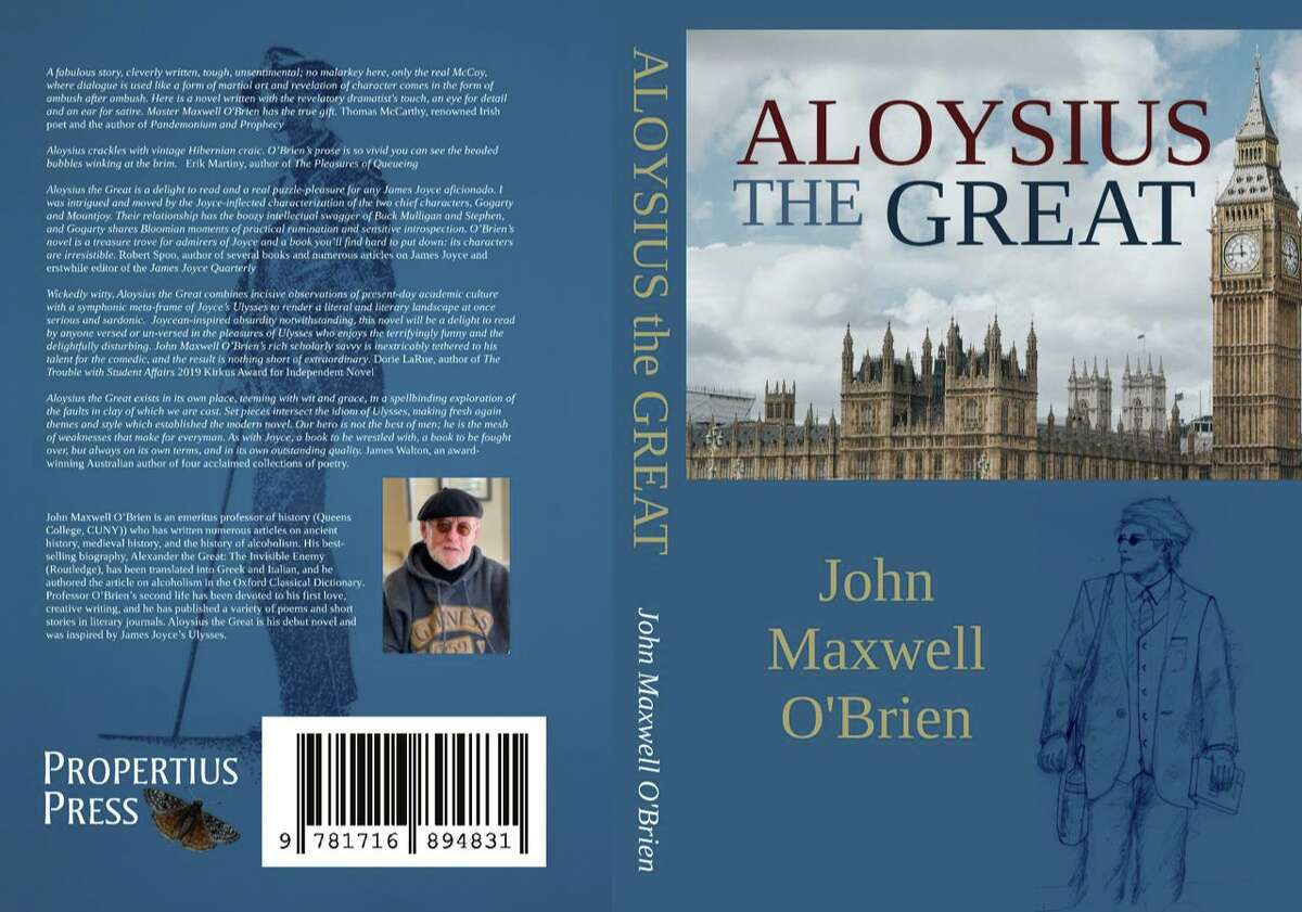 John Maxwell O'Brien, a New Milford author, recently published the novel,