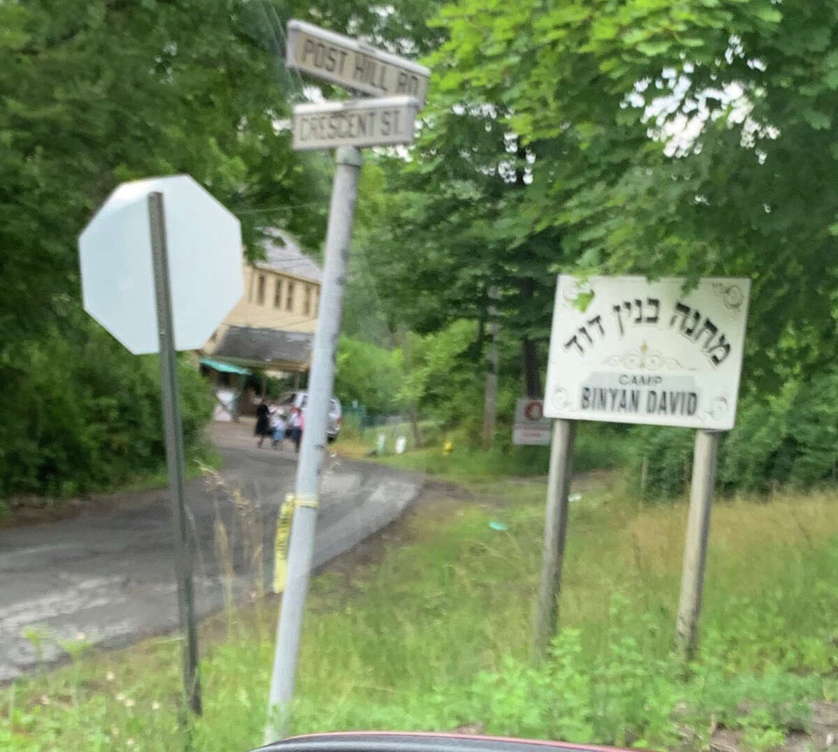 An Ulster County resident recently followed a bus that he said dropped children from a camp in WaWarsing at this overnight camp in Sullivan County.