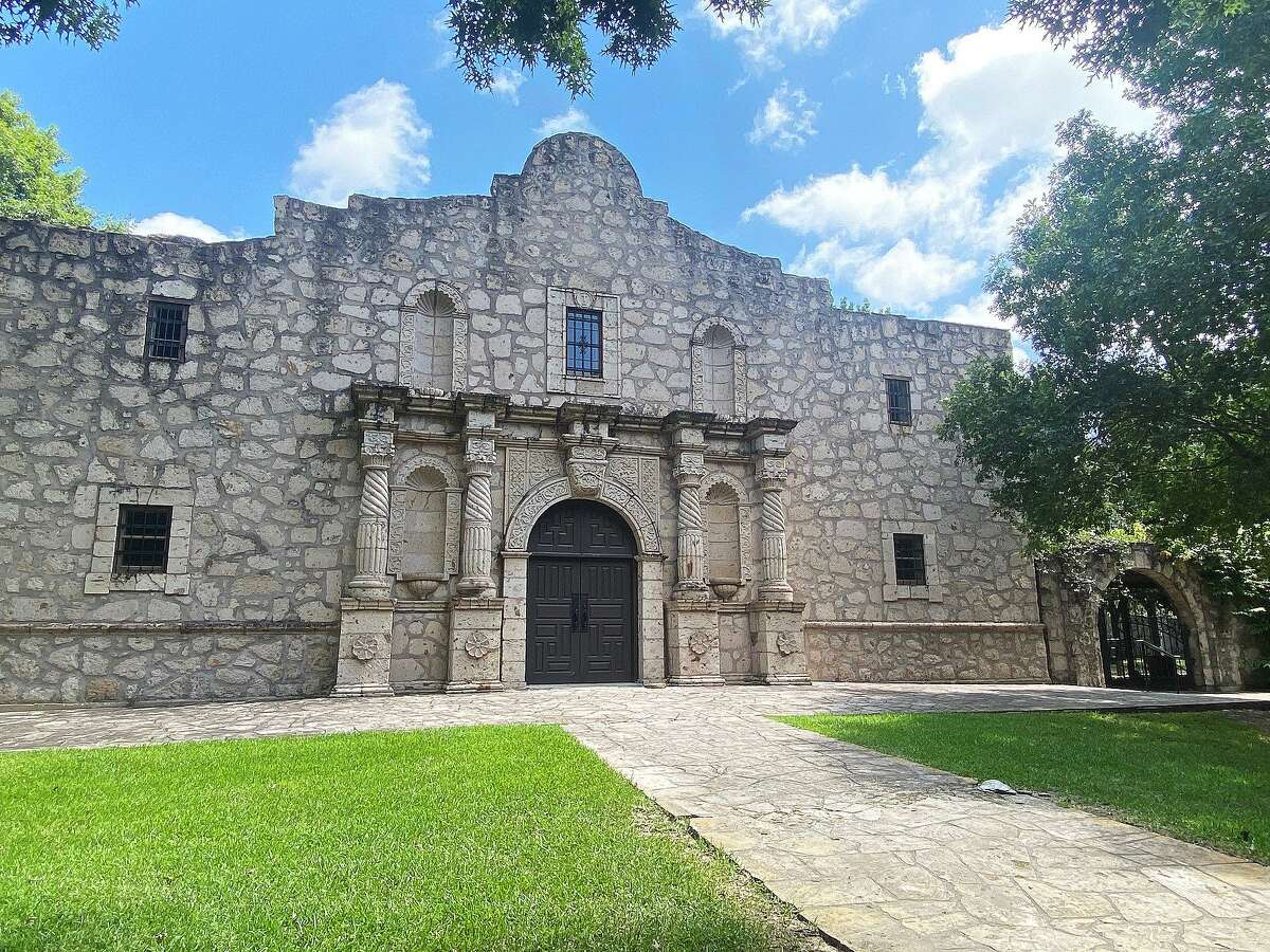 The façade had to be built a half-inch shorter than the original per regulations applied by the Texas Historical Commission.