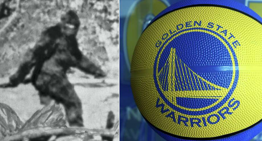 You're more likely to encounter someone who believes scientists will discover proof of Bigfoot than the Warriors are to get the first overall pick in the 2020 NBA Draft. Photo: Bettmann Archive//Ben Margot/AP