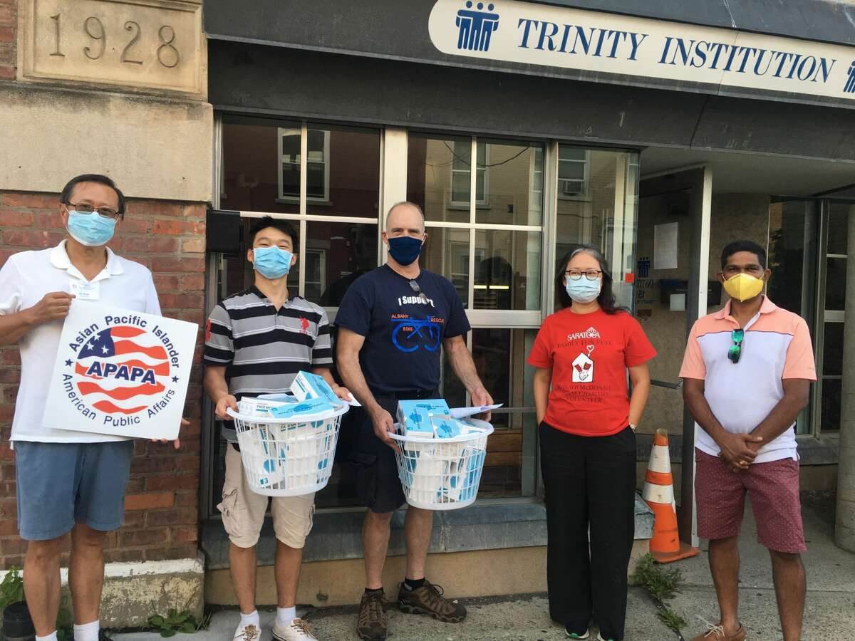 APAPA, one of the region's largest Asian American associations, donated 10,000 protective masks to the NAACP, Centro Civico, the Trinity Foundation and Ronald McDonald House last month. APAPA and the NAACP'S Albany chapters  have forged a first time alliance to fight racism.