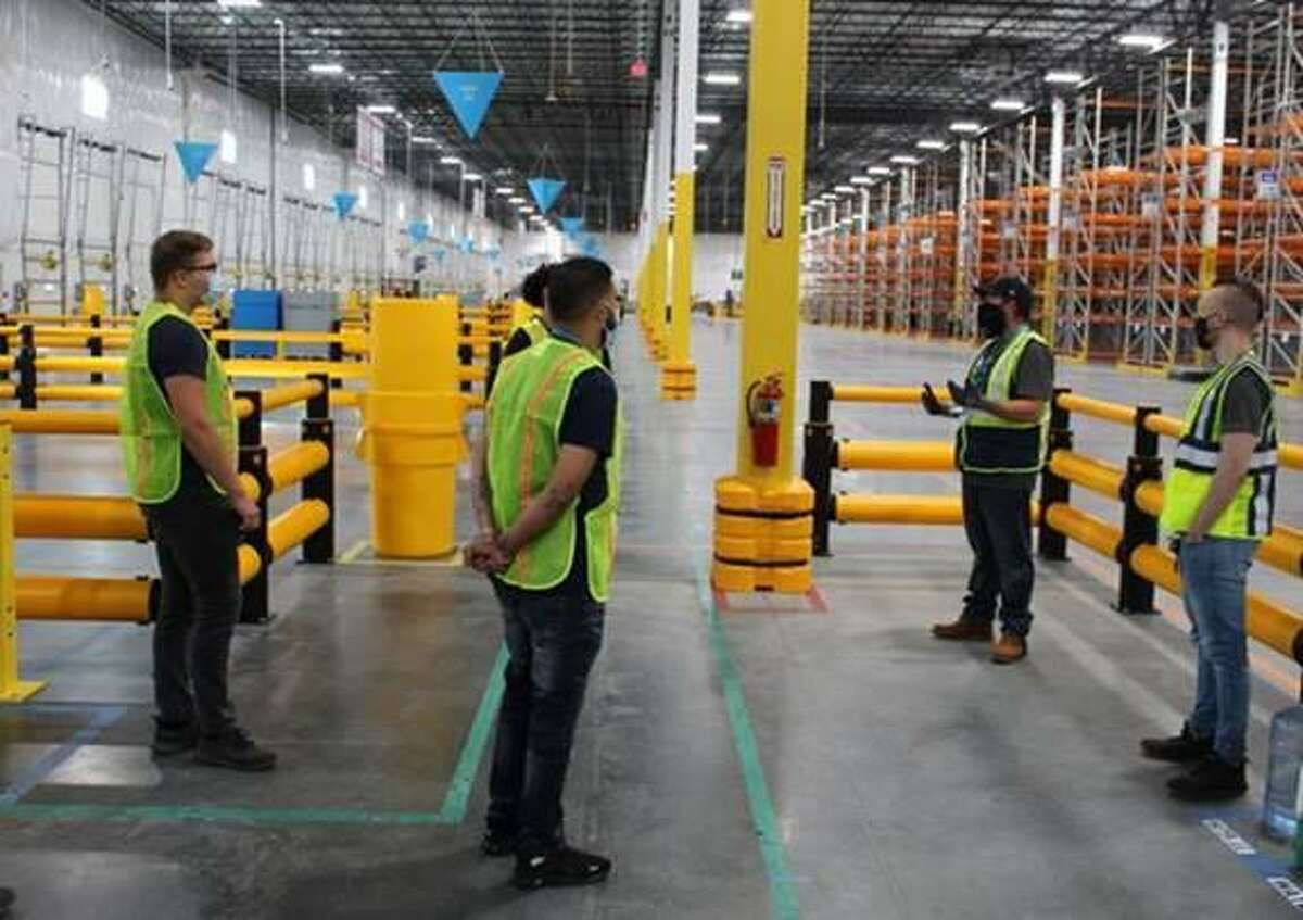 Amazon's fulfillment center in Cromwell.