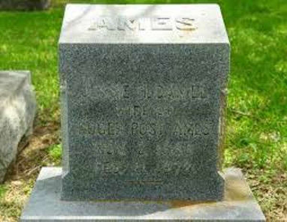 Jessie Daniel Ames died in 1972 and is buried in Georgetown's IOOF Cemetery.