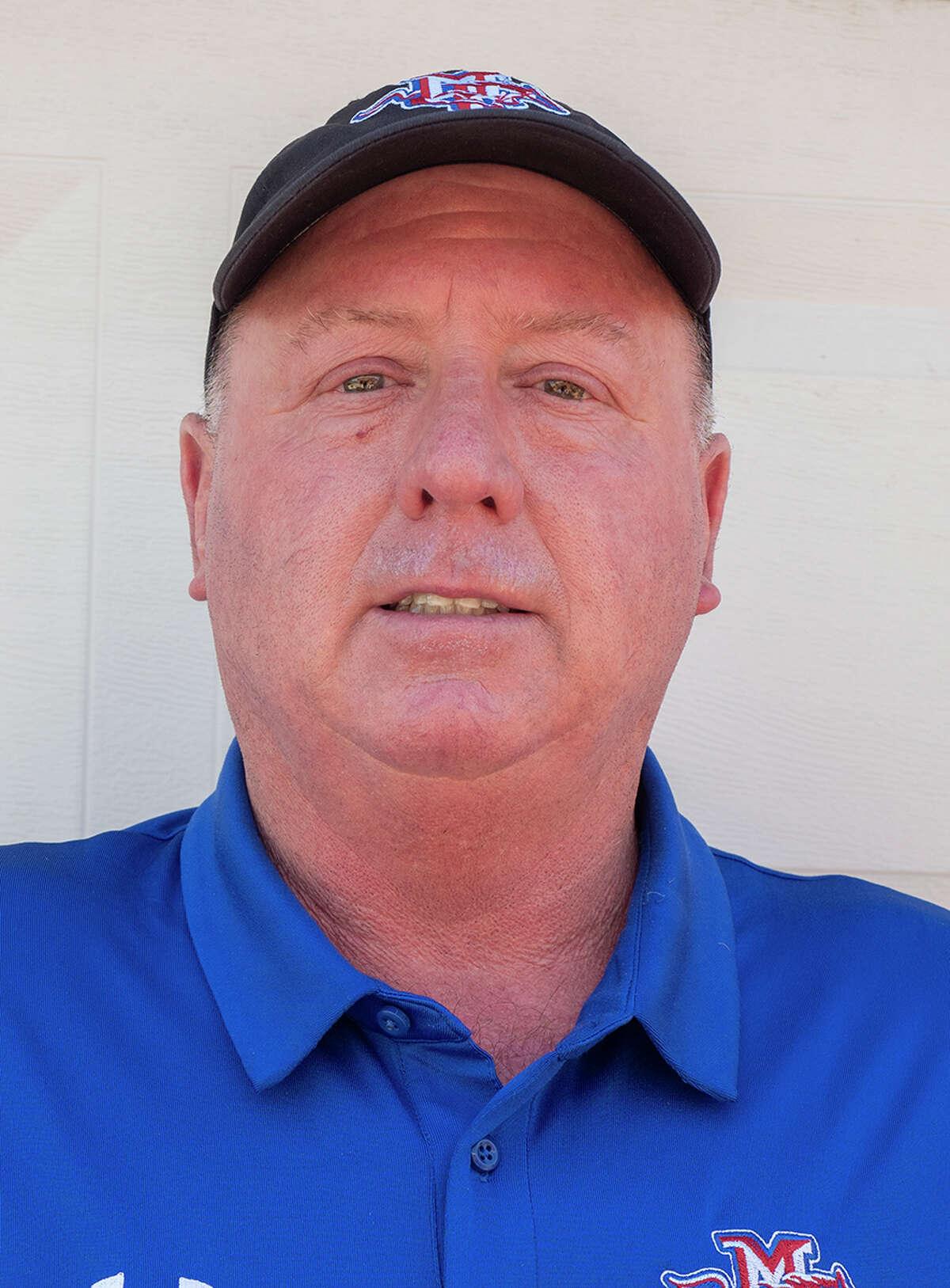 Coach Greg McClendon 8/12/2020 Tim Fischer/Reporter-Telegram