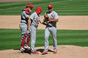 Former United South pitcher Roel Ramirez struggled in his MLB debut with Cardinals Sunday against the White Sox.