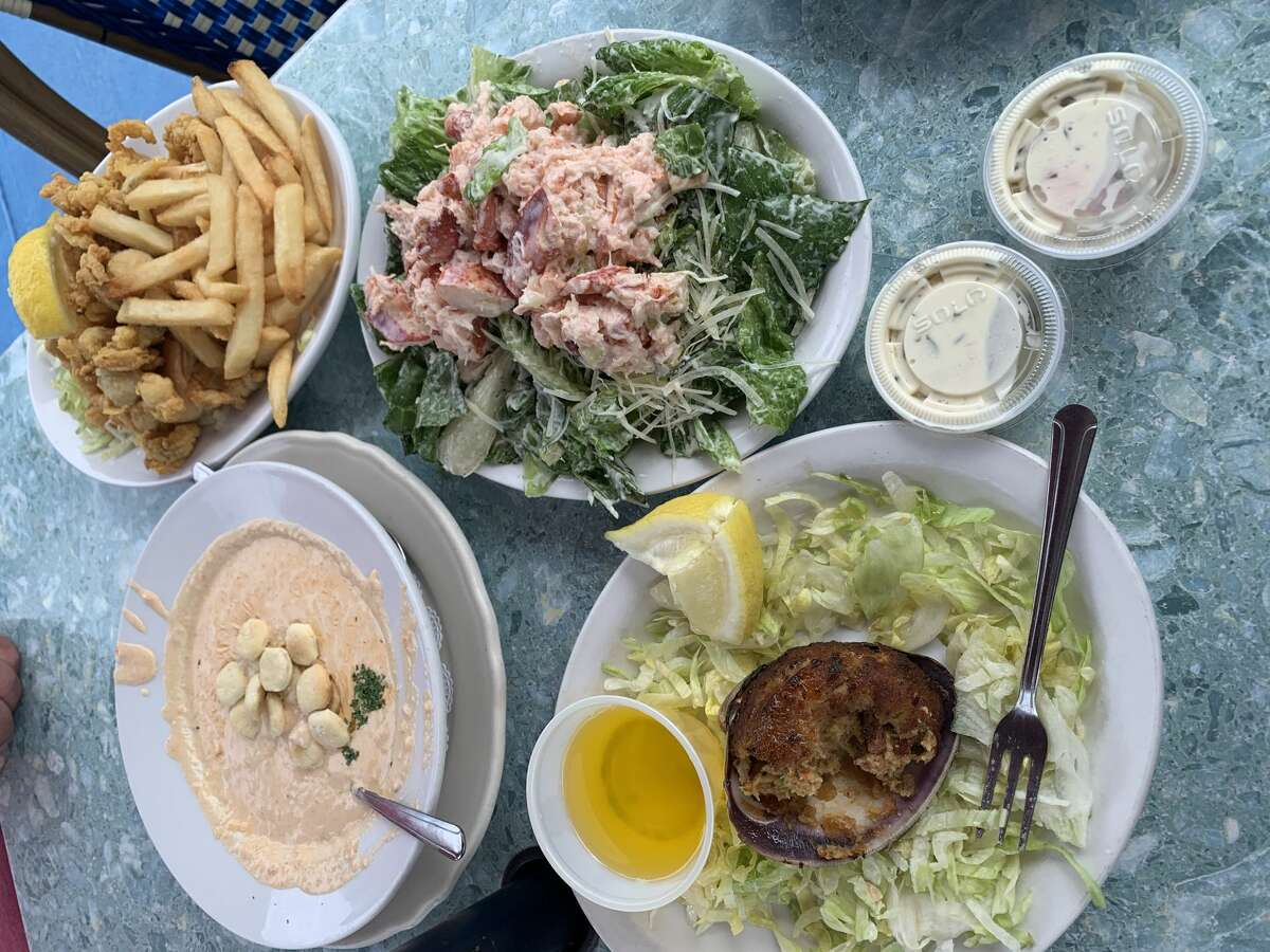 Many seafood-based picks at Spanky's Clam Shack and Seaside Saloon in Hyannis.