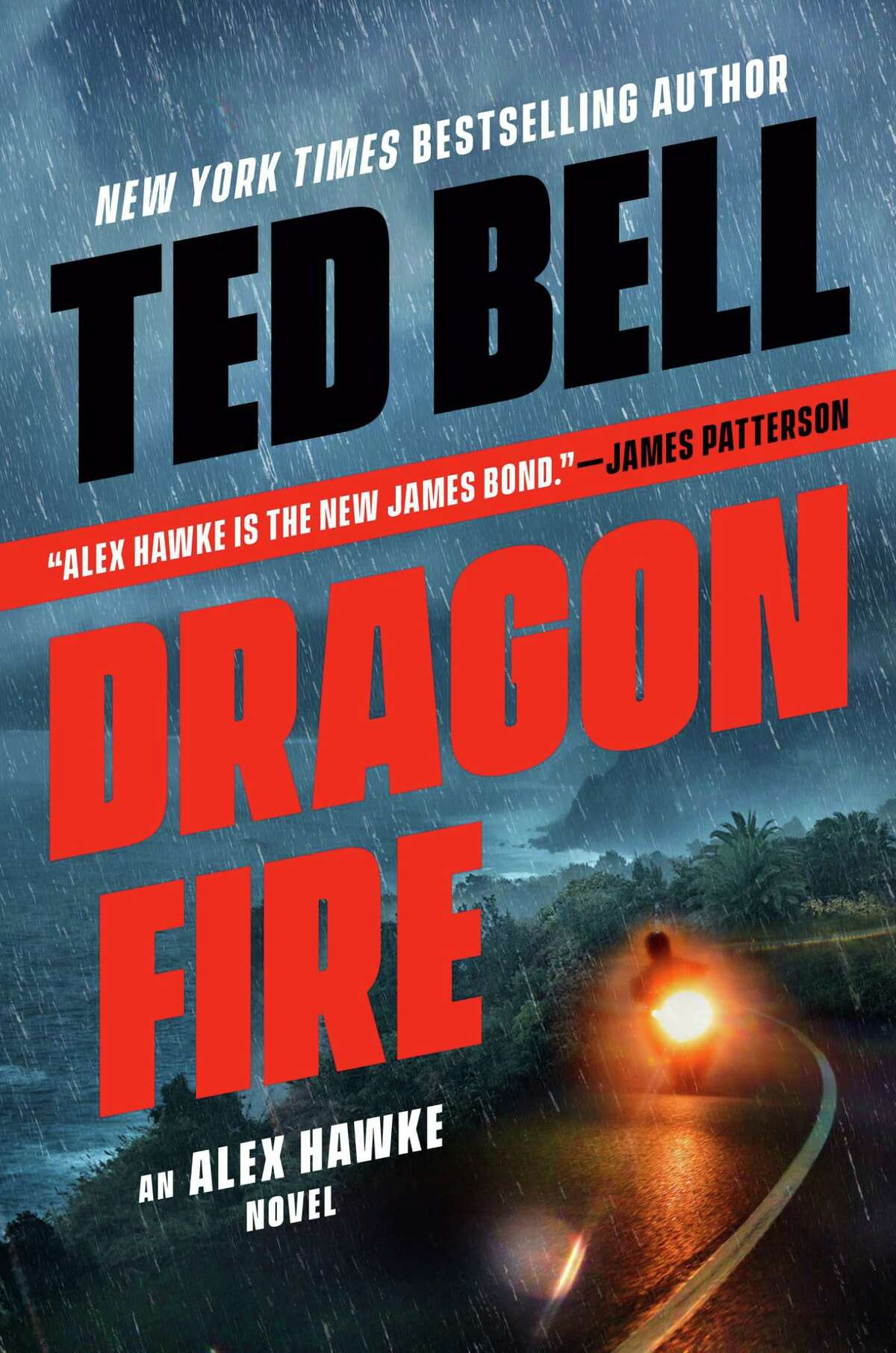 """Author Ted Bell, who splits time between Greenwich and South Carolina, has just released """"Dragonfire,"""" the latest novel in his series about gentleman spy Alex Hawke."""