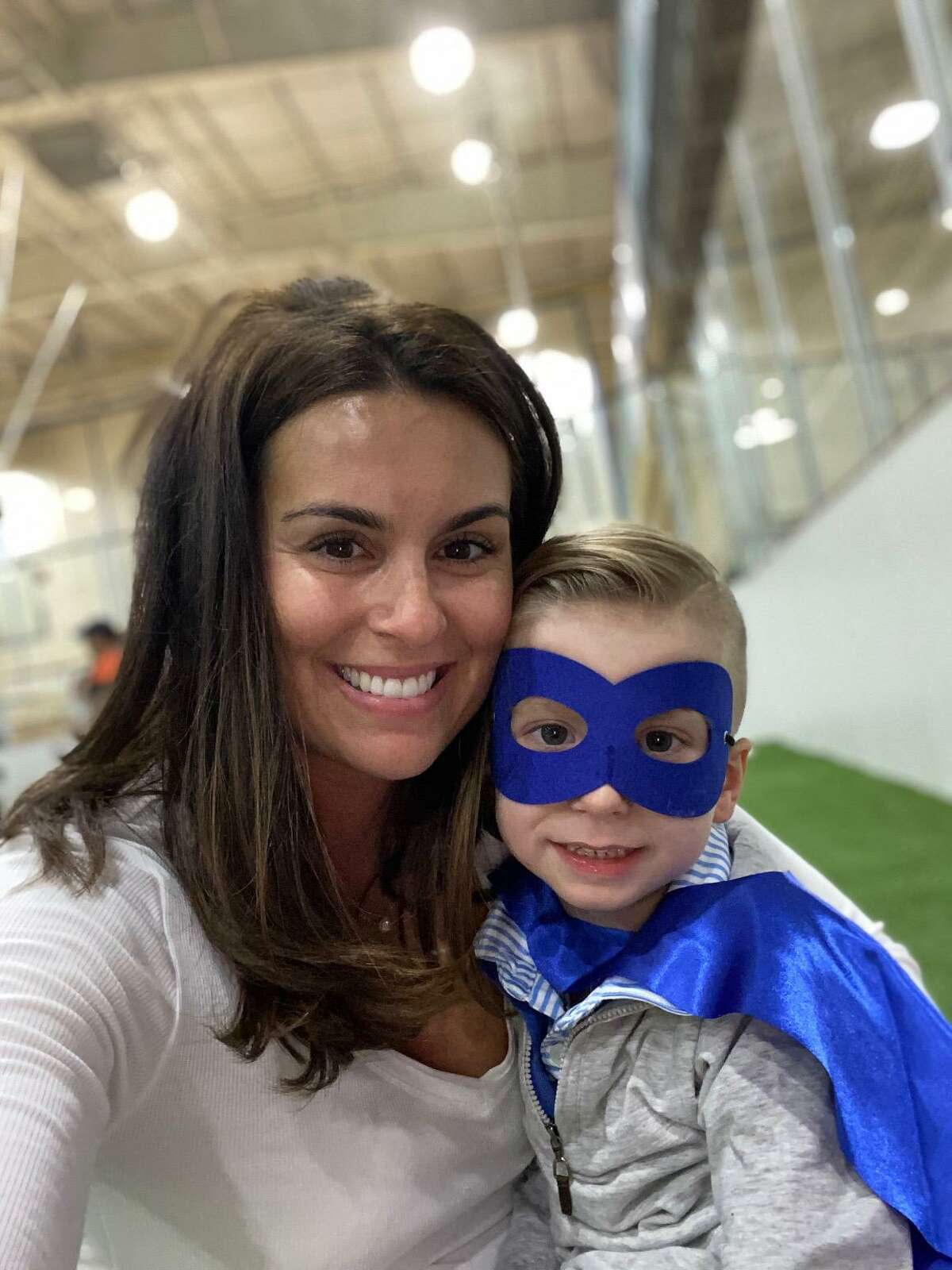 Natalie Avellone of New Canaan is sharing her son Carter's life with cerebral palsy through the Instagram page