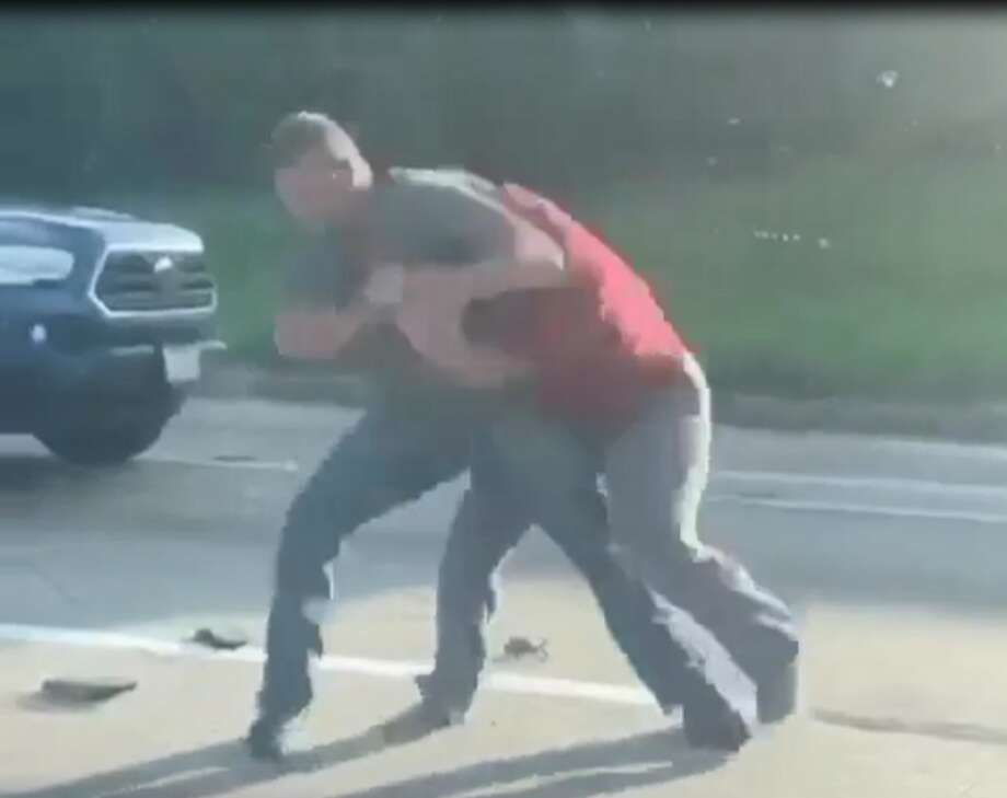 Screenshotof video taken of road rage incident that happened on Thursday, Aug. 13. Photo: Screenshot Of Video