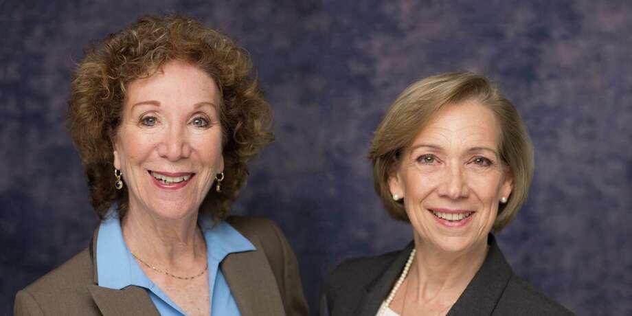 Linda L. Eliovson, left, and Christine M. Tenore Photo: Contributed Photo