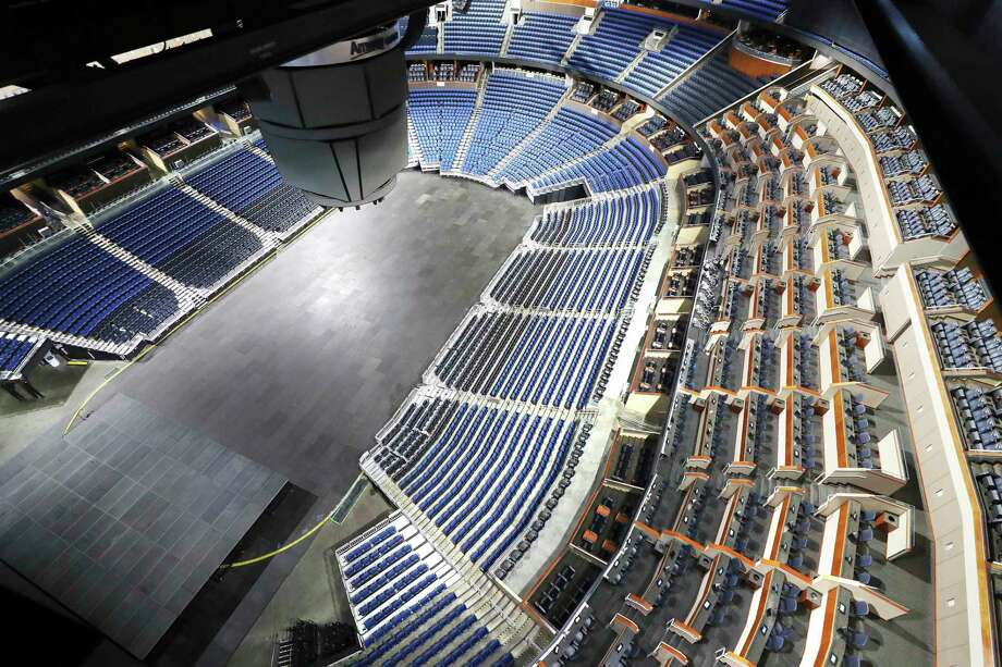 WWE has announced that it will move its flagship shows within Orlando, Fla., from its performance center to the Amway Center arena seen here. Photo: Stephen M. Dowell / Associated Press / Orlando Sentinel 2019