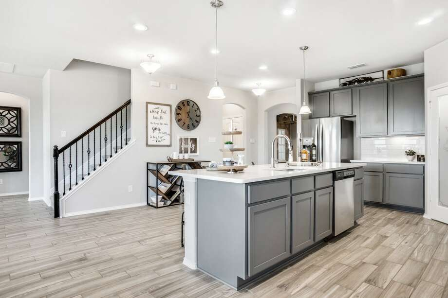 The Alder plan is a 3,176-square-foot, two-story home featuring five bedrooms and four full baths. Photo: Courtesy Of GHBA
