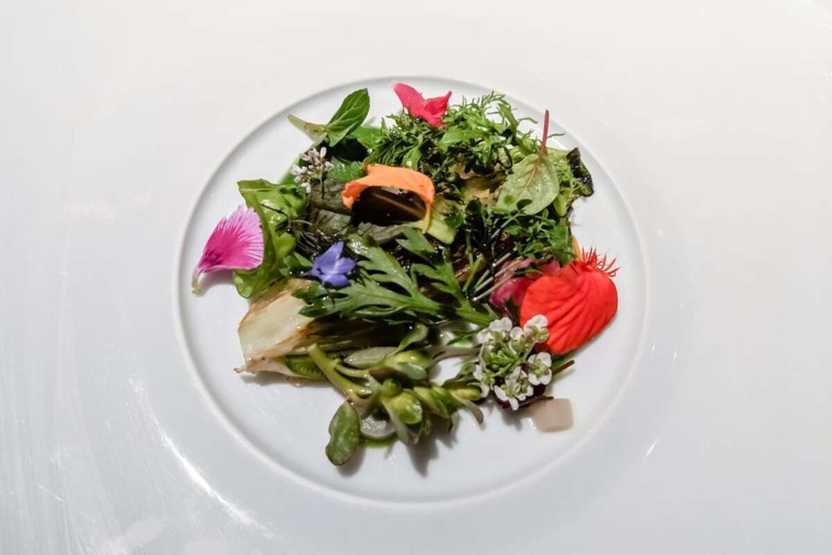 A plated dish served at Michelin-starred restaurant Manresa in Los Gatos. Executive chef-owner, David Kinch, has asked to withdraw himself from the nominations list of the James Beard semifinalist for outstanding chef. Kinch shared that celebrating the achievement didn't feel right in the midst of the ongoing pandemic.