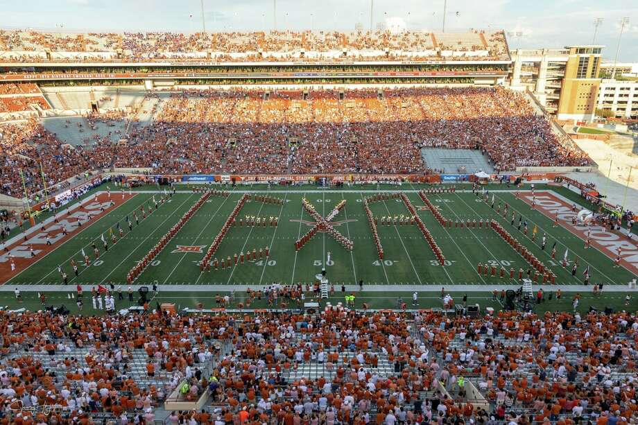 Members of Longhorn Marching Band, have said that the schools alma mater is racist, and refuse to perform the song. Photo: Longhorn Band Student Association