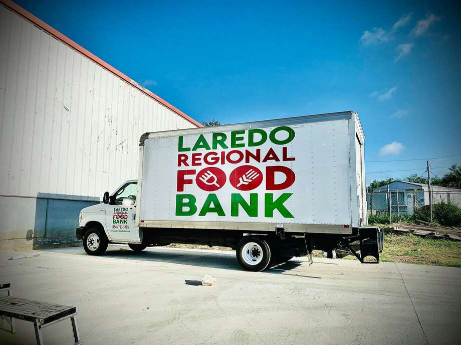 In this file photo, a truck bearing the Laredo Regional Food Bank's logo is shown. Photo: Courtesy