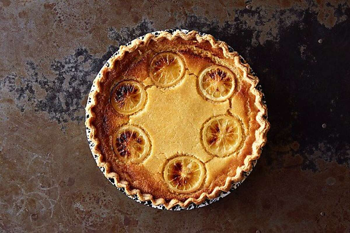 Trevor Logan's Chile Pies Baking Co. will provide rotating pies at upcoming Calistoga restaurant House of Better, such as lemon buttermilk pie.