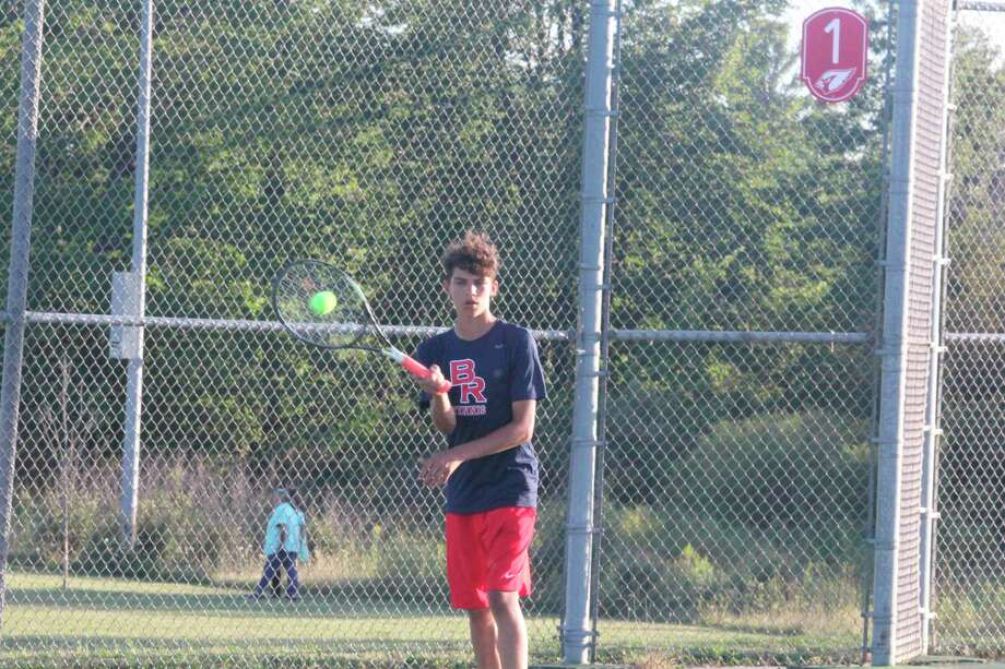 Sophomore Owen Westerkamp is a returning singles player for the Cardinals this season. (Courtesy photo)