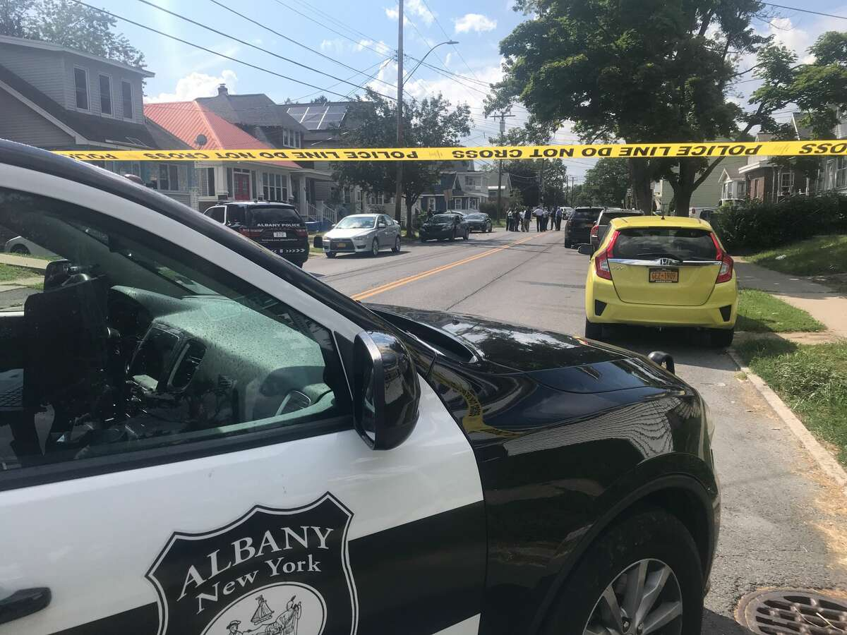 Albany police are investigating a shooting that left two men injured Monday afternoon on Southern Boulevard.