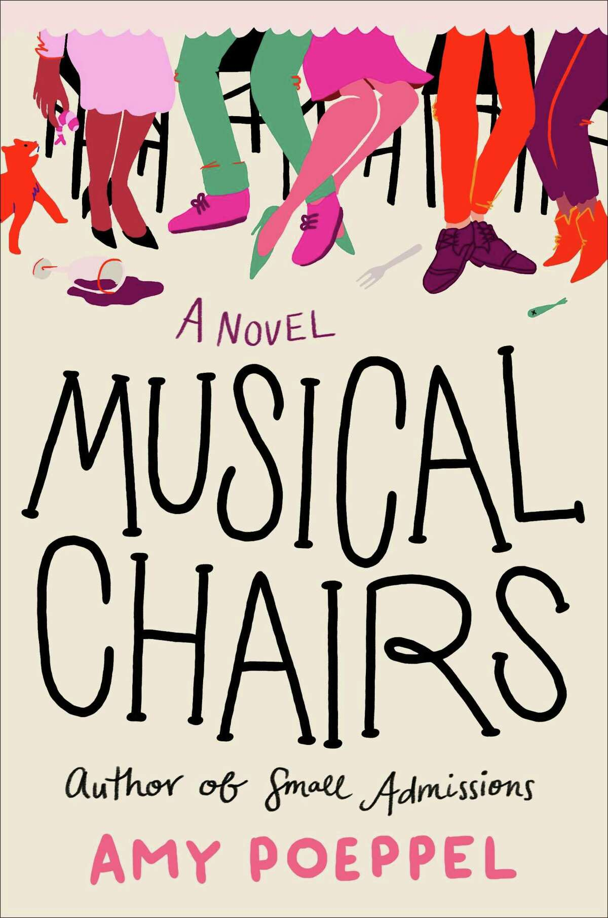 """Kent author Amy Poeppel will discuss her new book, """"Musical Chairs,"""" with author Elinor Lipman, Aug. 20 at 7 p.m. on Zoom. The free event is co-sponsored by Kent Memorial Library and House of Books."""