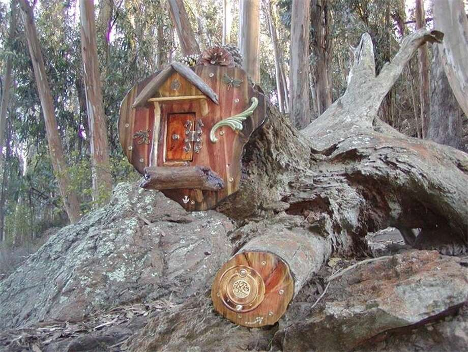 The fairy door in Glen Canyon Park. Photo: Faerydoor.net