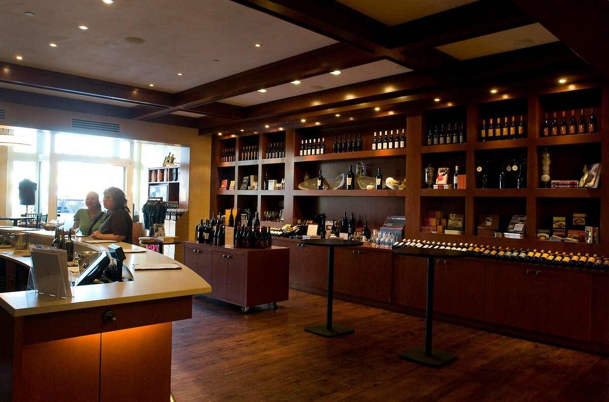 Scheid Vineyards tasting room in Monterey, Calif., is photographed on Monday, September 6, 2010.