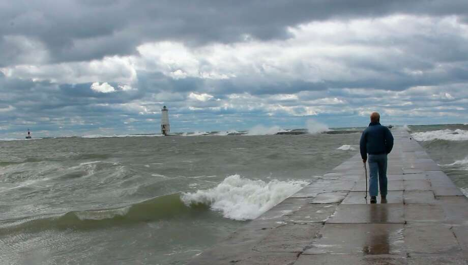 Officials warn conditions on piers during August through December can be particularly dangers, as wind, coupled with high water levels, can cause waves to sweep over. (File Photo)