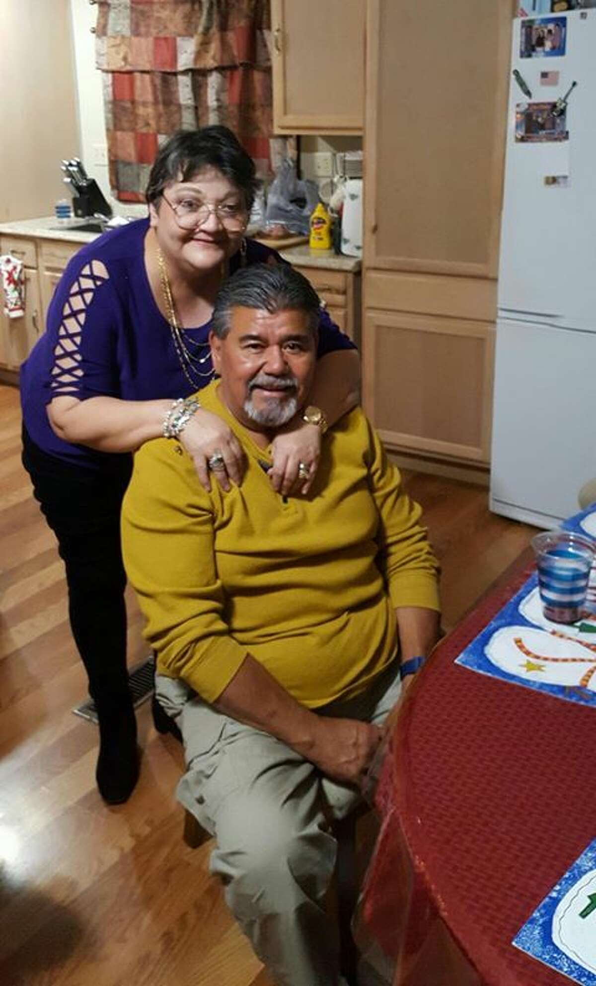 Margie and Raul Flores.