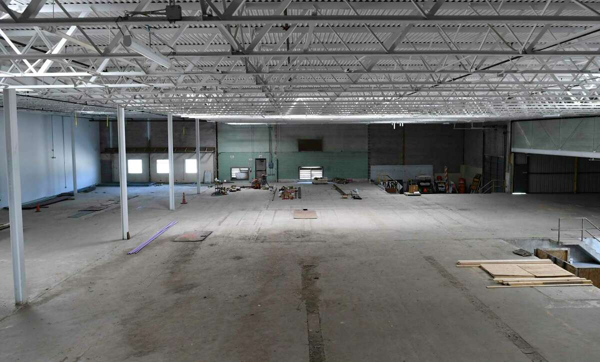 About 40,000 square feet could be used for restaurant and retail space.