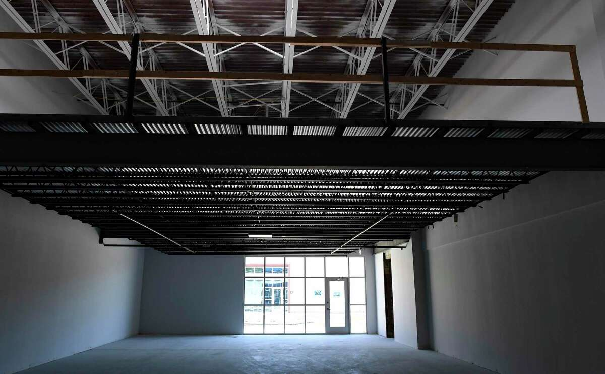 Gene and Betty Braden added about 33,000 square feet of mezzanine space to the building.