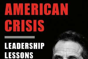 "This cover image released by Crown shows ""American Crisis: Leadership Lessons From the Covid-19 Pandemic"" by Andrew Cuomo. The New York governor has gained a national following through his management of the coronavirus pandemic. Now he's writing a book that looks back on his experiences. It includes leadership advice and a close look at his relationship with the administration of President Donald Trump. Crown announced Thursday that Cuomo's ""American Crisis"" will be released Oct. 13. (Crown via AP)"