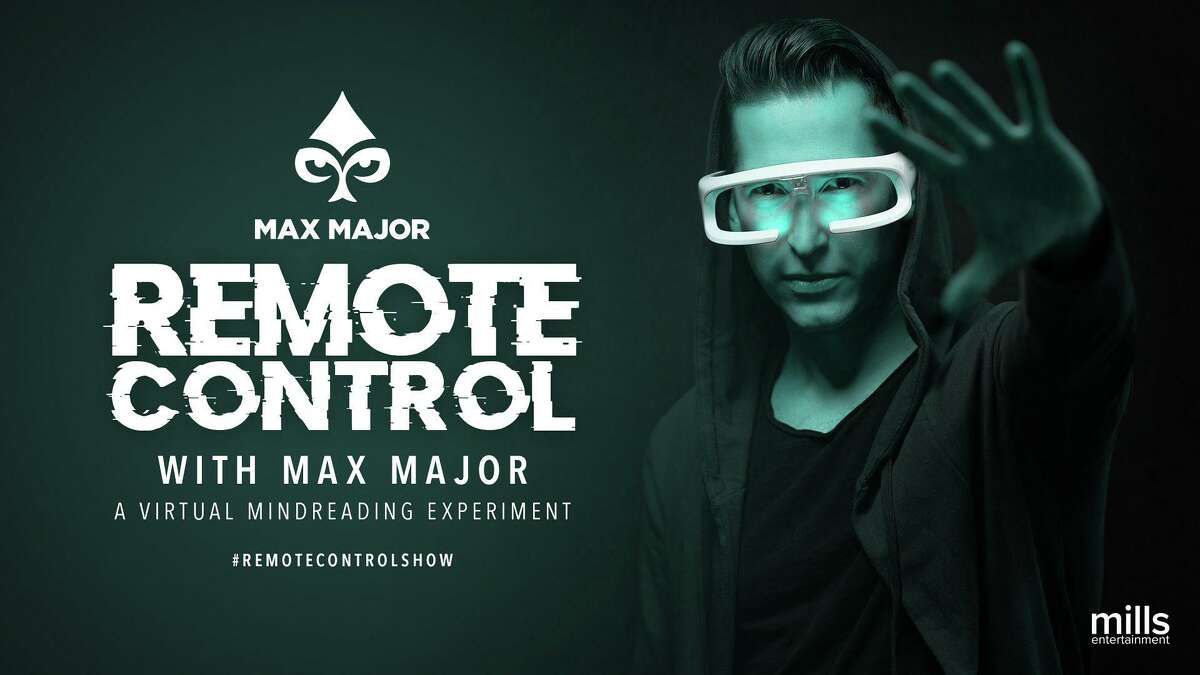 Max Major will hold a virtual magic show at the Seven Angels Theatre in Waterbury Sept. 10-12.